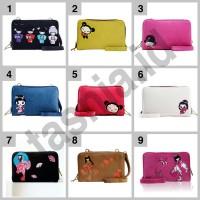 Dompet tas selempang wanita muat HP/Tablet Modipla GPO Japan Series