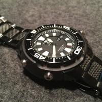 Seiko 5 SPorts SKZ255K1 Automatic Diver 200M Black | Jam Pria SKZ255