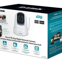 DLINK DCS-5020L - IP Camera DLink PTZ Infrared Wireless Cloud