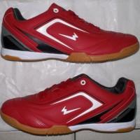 the legend is back, sepatu futsal new ventura merah