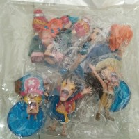 Figure Set One Piece 6PCS Luffy, Usopp, Chopper, Nami, Franky, Nico