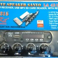 kit speaker aktif SANYO LA42152 stereo with multimedia MP3 USB FM