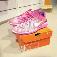 100% Original Nike Free 5.0 TR Fit 5 Limited Pink