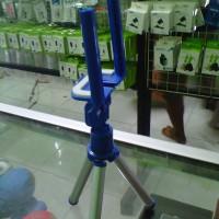 harga Tripod Mini Full Warna + Holder U Universal Smartphone Stabilizer Tokopedia.com