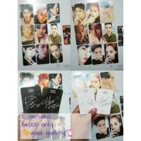 replika photocard exo Lotto 2versions set