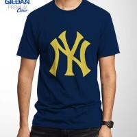kaos/tshirt/gildan/24s/sablon/custom/baseball/yankees