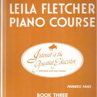 BUKU MUSIK PIANO PEMULA - LEILA FLETCHER PIANO COURSE - BUKU 3