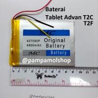 Baterai Tablet Advan T2F Original China | Cina, Batre, Batrai, Advance