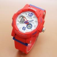 Jam Tangan Wanita Fortuner Original Double Time Merah