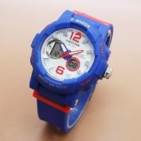 Jam Tangan Wanita Fortuner Original Double Time Biru