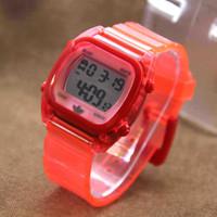 Jam Tangan Pria / Wanita Adidas Segi Rubber Red YDG6