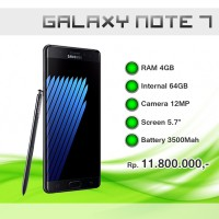 harga Samsung Galaxy Note 7 64GB Tokopedia.com
