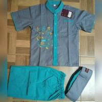 Baju Koko Anak (size 1-3)
