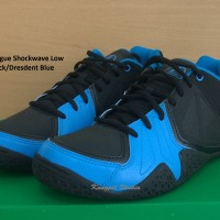 Sepatu Basket original League Shockwave Low Black/Dresdent Blue