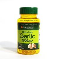 Puritan's Pride Odorless Garlic 1000 mg 100 Ct #5531 Puritan