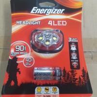 harga Senter Kepala Energizer 4 Led Tokopedia.com