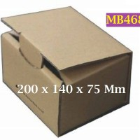 Kotak Kraft Kardus PBC004 Barang Online 200 x 140 x 75 Mm - MB468