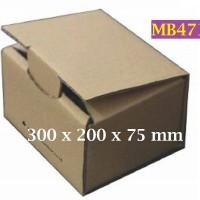 Kotak Kraft Kardus PBC007 Barang Online 300 x 200 x 75 Mm - MB471