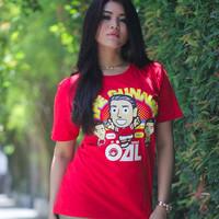 Verve | Kaos Chibi T-Shirt Kartun TShirt Soccer Bola Mesut Ozil 1