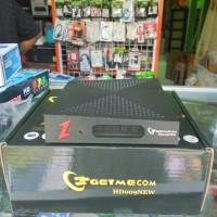 Receiver Parabola Getmecom HD009 New Azplay AVS + Tandberg PowerVu Biss