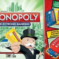 Monopoly Electronic Banking by Hasbro - Game Monopoli