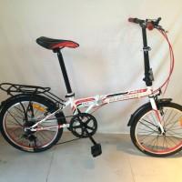 harga Sepeda Lipat 20 Element Rock Tokopedia.com