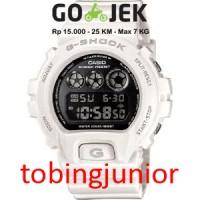 DW-6900NB-7 DW6900NB7 | Jam Tangan Pria CASIO Original G-Shock White