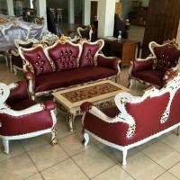 harga Kursi & Meja Tamu Sofa Ukir Kayu Jati Kualitas Super Furniture Jepara Tokopedia.com