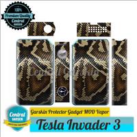 harga Garskin Mod vapor Tesla Invader 3 - Ular Tokopedia.com