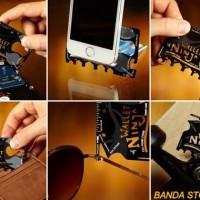harga Toolkit Pisau Survival Wallet Ninja 18 in 1 / Taruh Dom Limited Tokopedia.com
