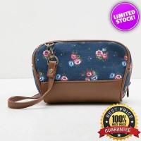 Tas Wanita Fashionable - Nikita Blue Clutch Mini Slingbag [Limited]