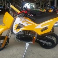 Motor Cross Mini 50cc 2 Tak Trail ATV MT Sport Hobi Manan Anak