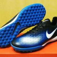 Sepatu Futsal Nike Magista Onda II Black Dark Blue - TURF