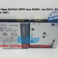 Baterai Oppo Blp565 Oppo Yoyo R2001, Neo R831, R831k Original 100%