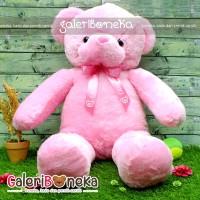 Boneka Little Teddy Bear Pink Ukuran Besar ( BT - 317260 )