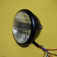 harga Reflektor / Headlamp / Lampu Depan CB Hitam Besi Tokopedia.com