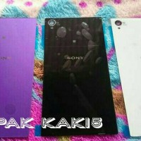 Casing belakang Sony Xperia Z1 ( Back Cover / Back door.)