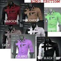 harga Kemeja King Edition/Kemeja Pria Korea Jepang Keren Murah Tokopedia.com