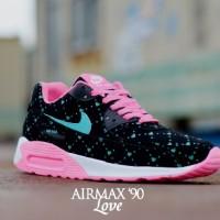 sepatu sneakers running casual kets lari main hangout nike air max 90