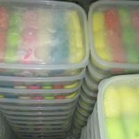 Jual Pancake Durian Mini Rainbow isi 21 Duren Medan Murah