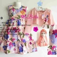 (2-5 tahun) Baju Muslim Anak / Gamis Anak LaBella Peach Top 10