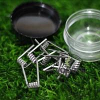 Premium Prebuilt Alien Wire 0.2Ohm Koil Jadi Coil Kawat Vape Vaporizer