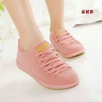 harga Sepatu Kets Wanita Warna Pink / Sepatu Flat Cewek Casual Remaja Tokopedia.com