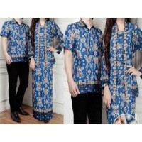Couple kebaya modern Zoya baju muslim pasangan sarimbit batik