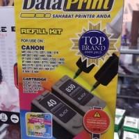 Tinta Suntik Data Print Hitam DP 40- Printer Canon atk