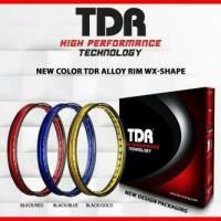 harga Velg Motor TDR wx-shape two tone bebas pilih uk.140/160 ring 17 Tokopedia.com