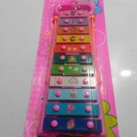 alat musik xylophone doremi / kolintang / kulintang / mainan edukatif