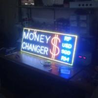 Money Changer Led Sign