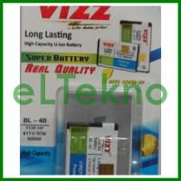 Baterai Vizz Nokia BL-4B BL4B N76 6111 N5000 Batre Double Power Dobel