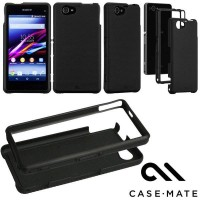SALE!!! CASE-MATE Tough Sony Xperia Z1 Compact Original - Black